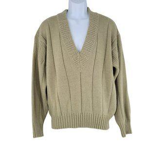 Giorgio Armani Collezioni Men's Italy Made Wool Blend Knit Sweater size S